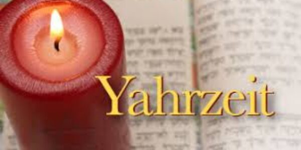 Yahrzeit candle 3